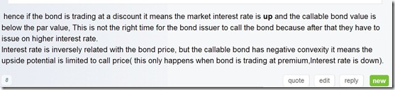 CFA Fixed Income Answer