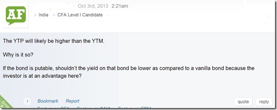 CFA Fixed Income Question